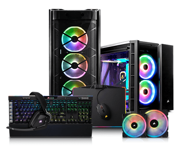 PCSPECIALIST - Configure a high performance Corsair Icue Based PC