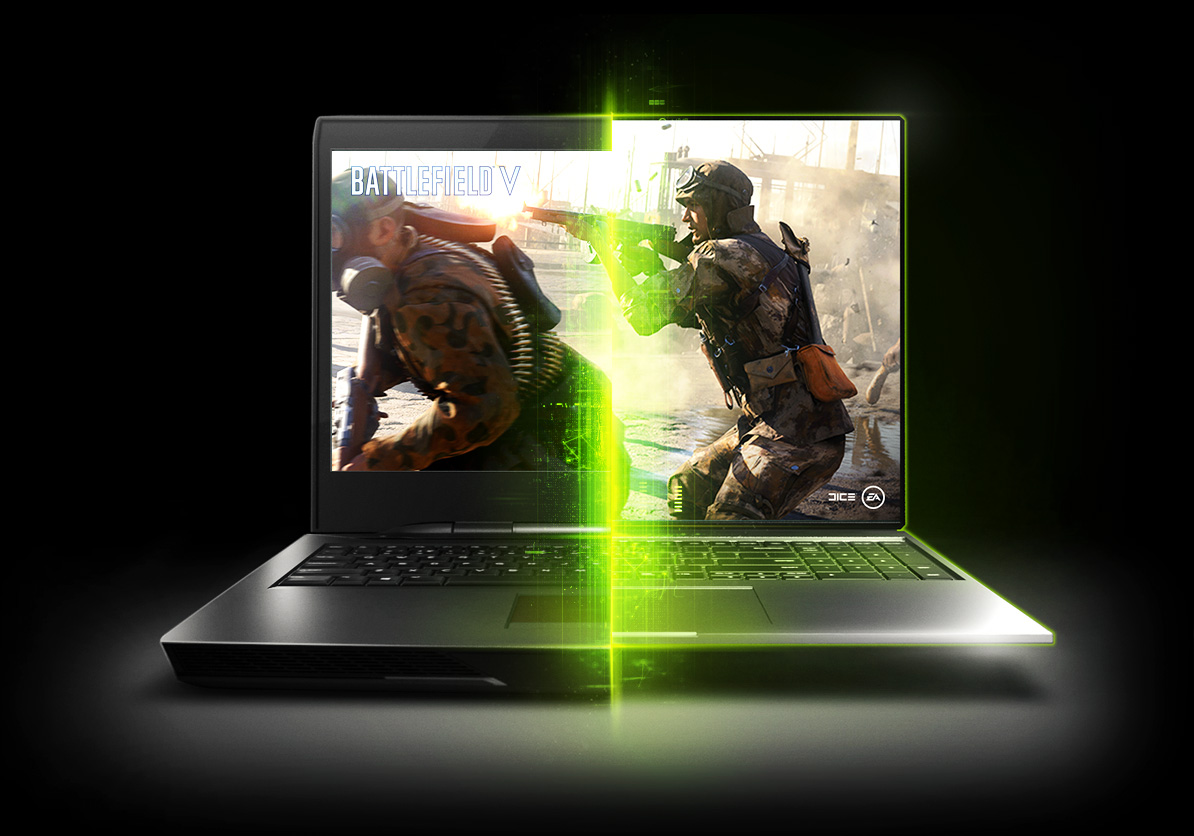 Geforce Max-Q laptop