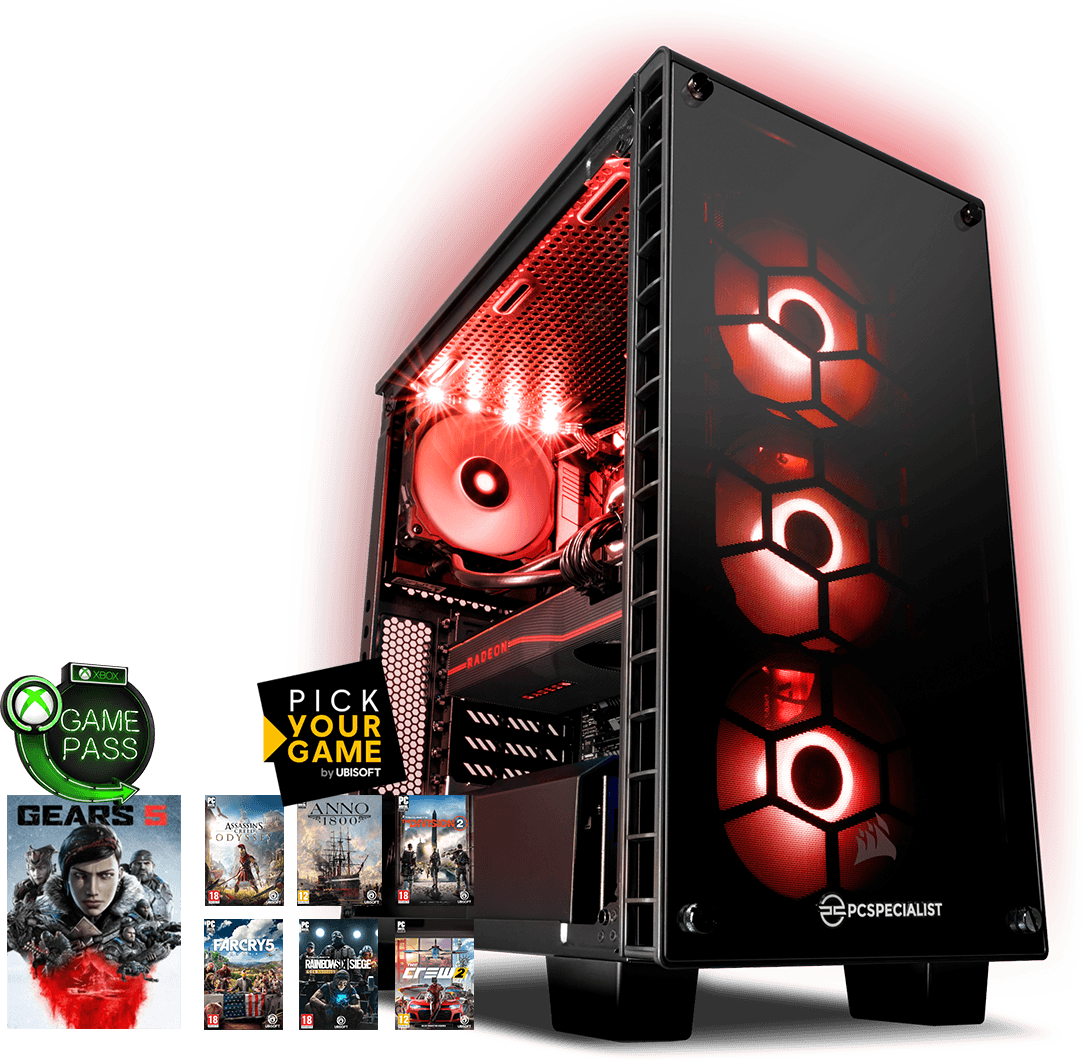 PCSPECIALIST - Configure a high performance PC Of The Month Aug Based PC