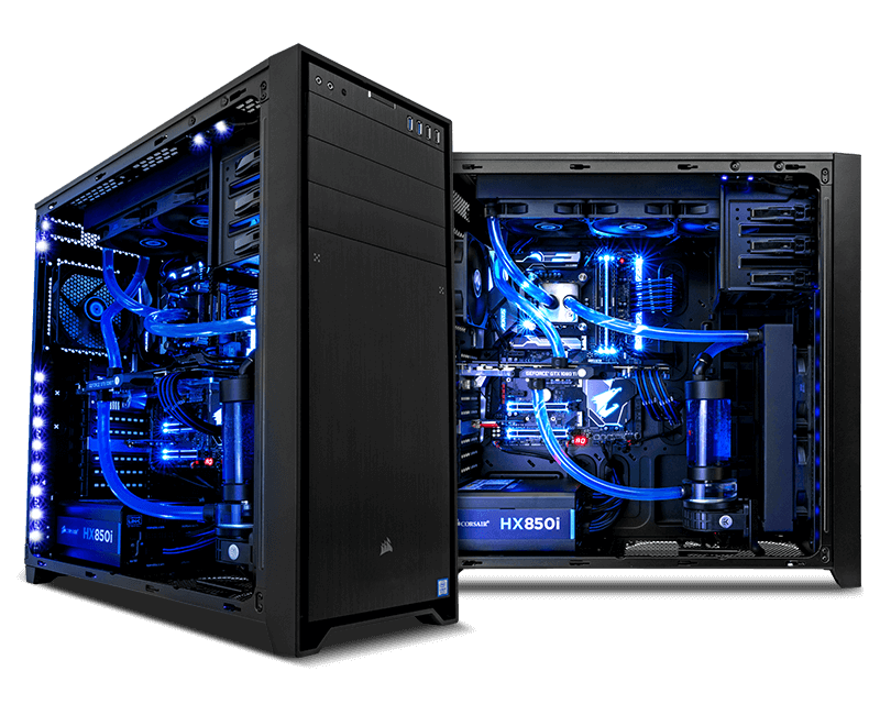 PCSPECIALIST - LIQUID SERIES Water Cooled PCs