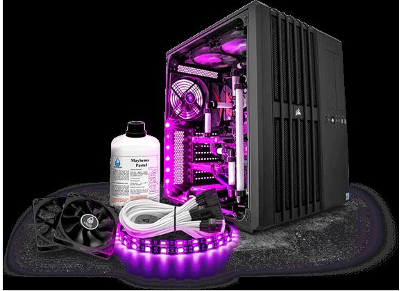 PCSPECIALIST - LIQUID SERIES Water Cooled PCs